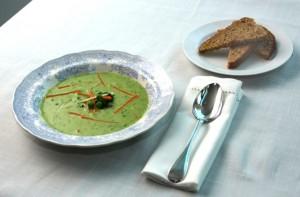 grønn suppe